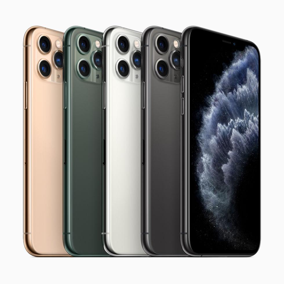 Apple presenterar iPhone 11 Pro