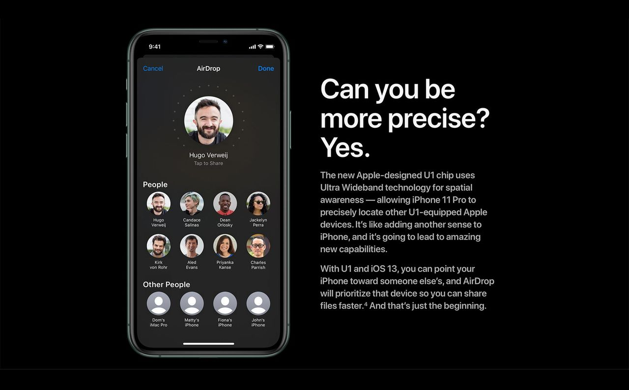 Apples nya U1-chip ska hjälpa till att hitta saker