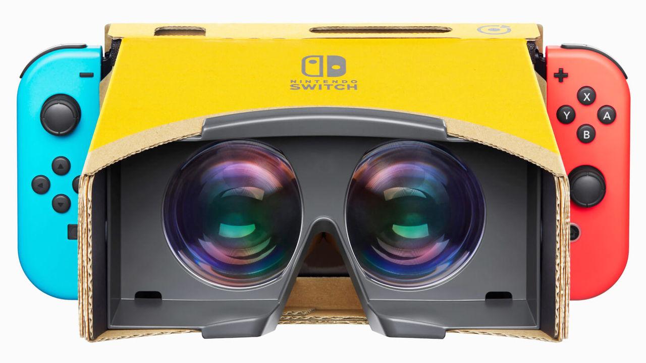 Nintendo ryktas ha nytt VR-headset på gång
