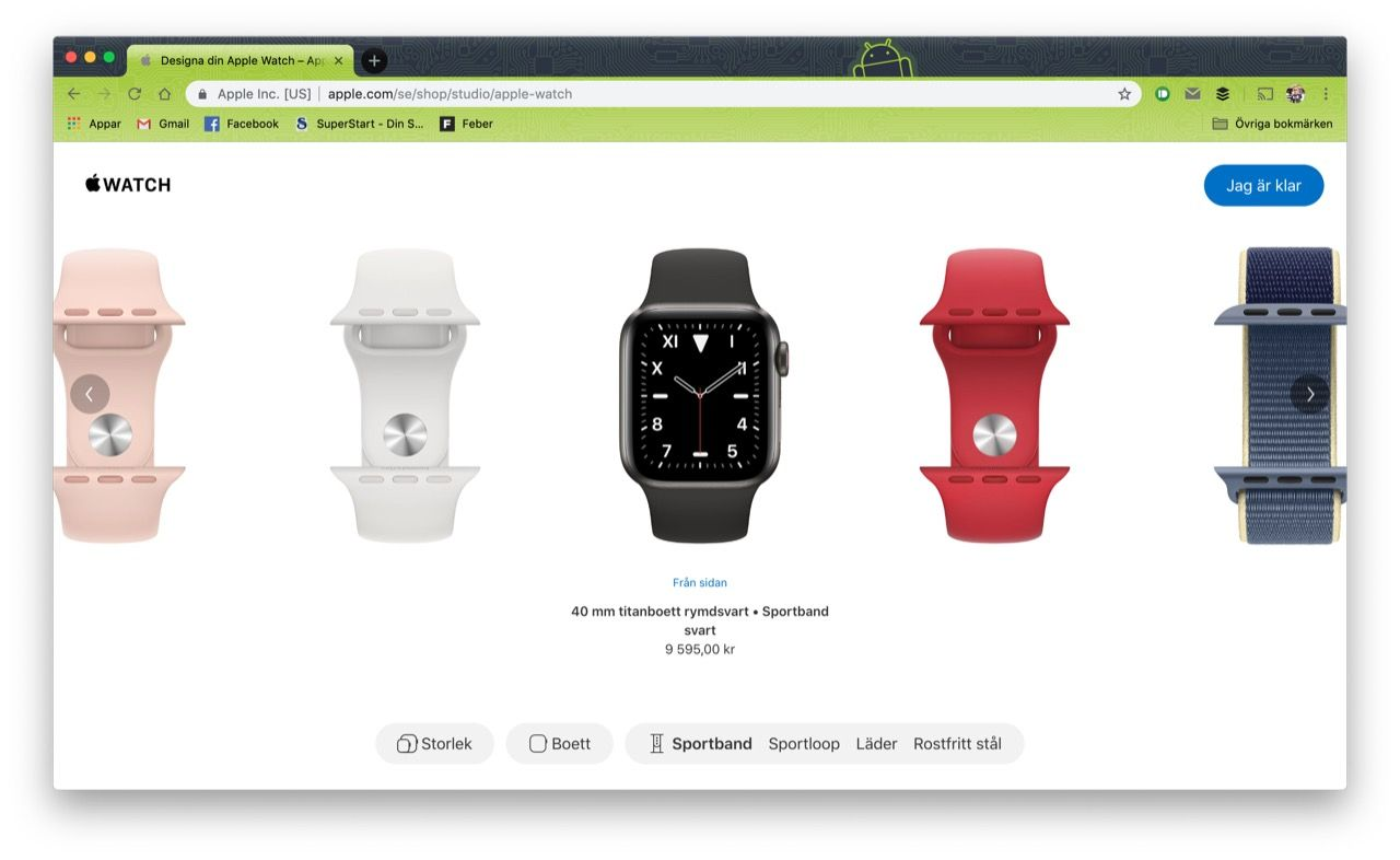 Apple lanserar Apple Watch Studio