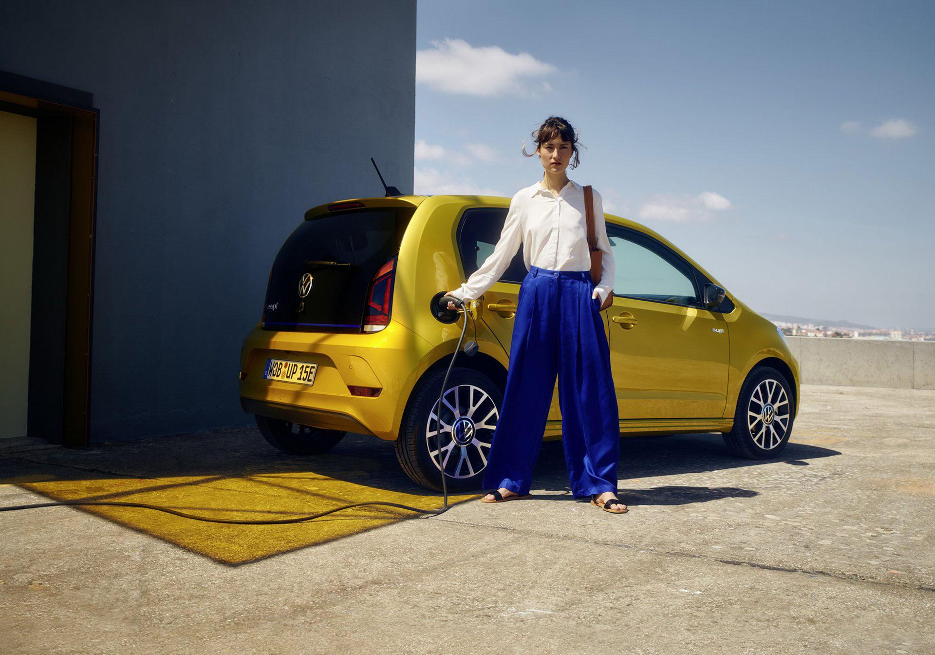 Uppdaterade Volkswagen e-up! är här