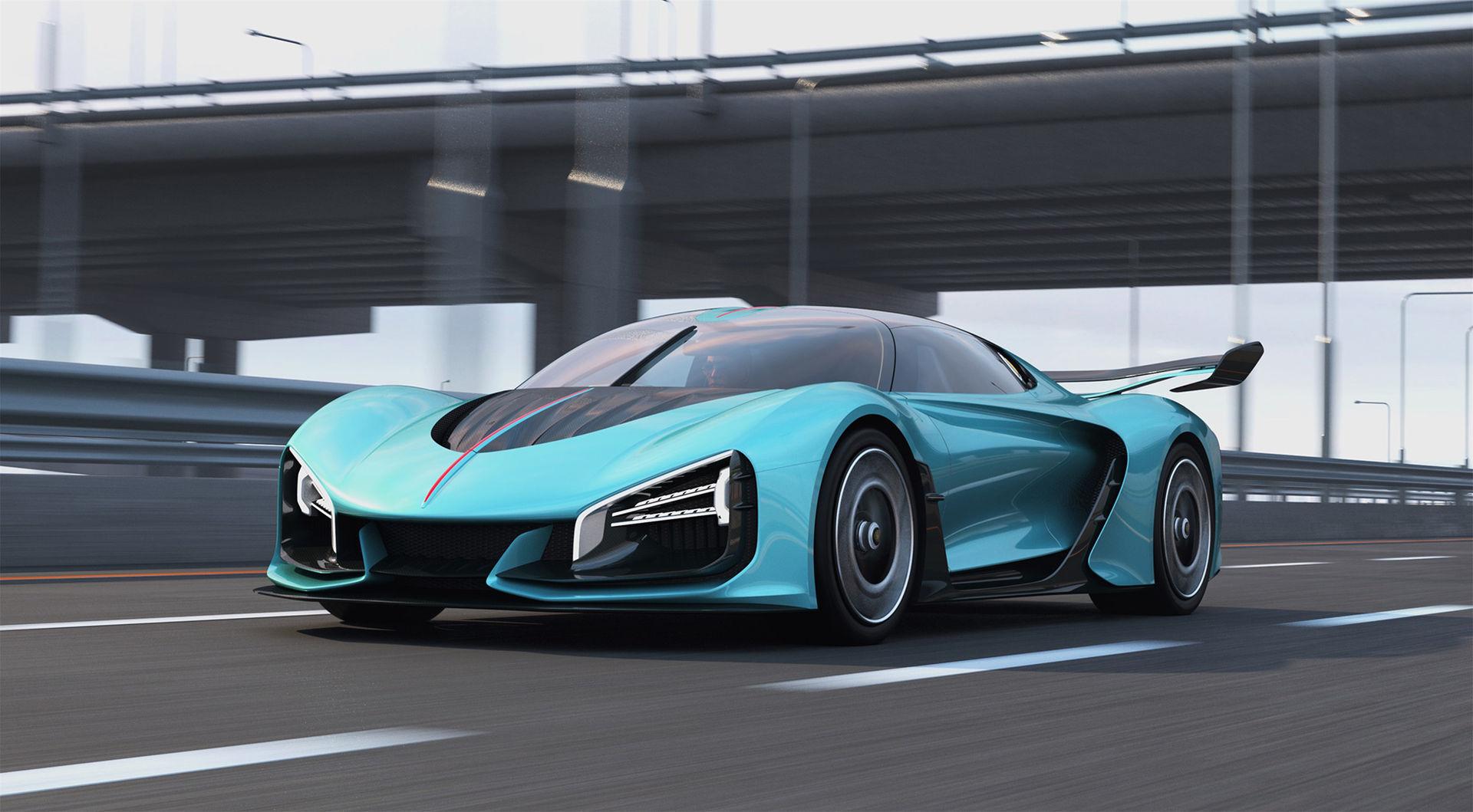 Hongqi visar hyper-hybrid och eldriven SUV