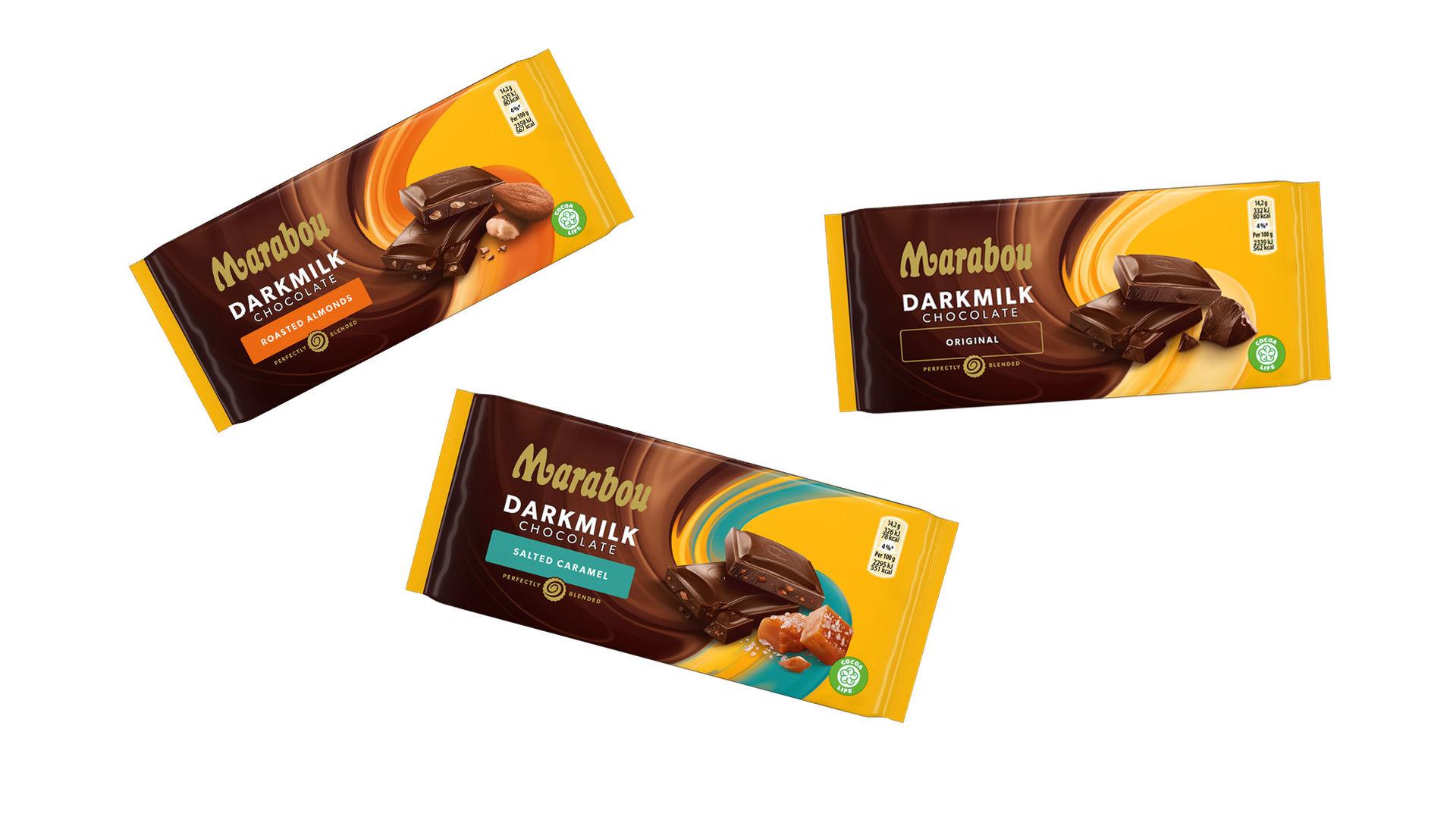 Marabou lanserar ny chokladserie