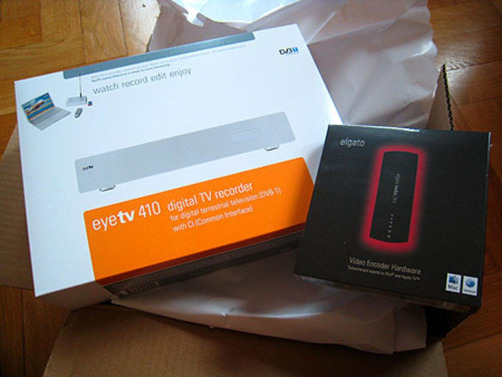 Vad vill ni veta om EyeTV 410, EyeTV 3 och Turbo.264?