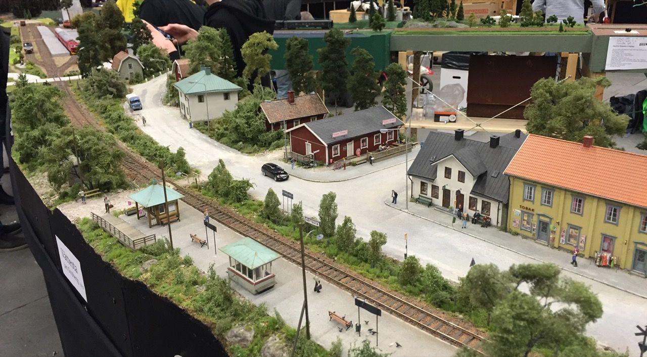 Modelljärnvägsfest på Skansen i oktober