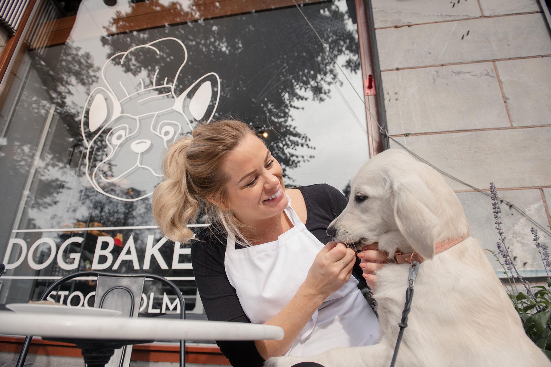 Idag öppnar ett bageri för hundar