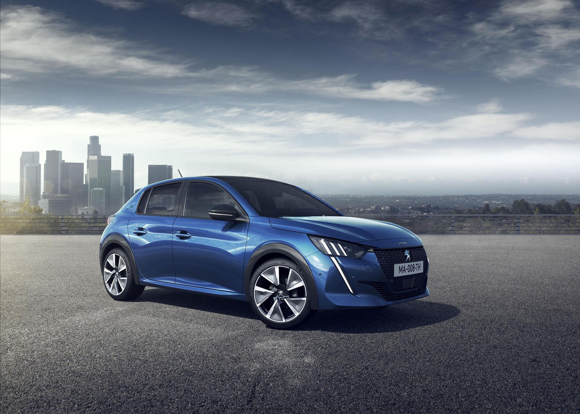 Peugeot e-208 kommer att kosta runt 360.000 kronor