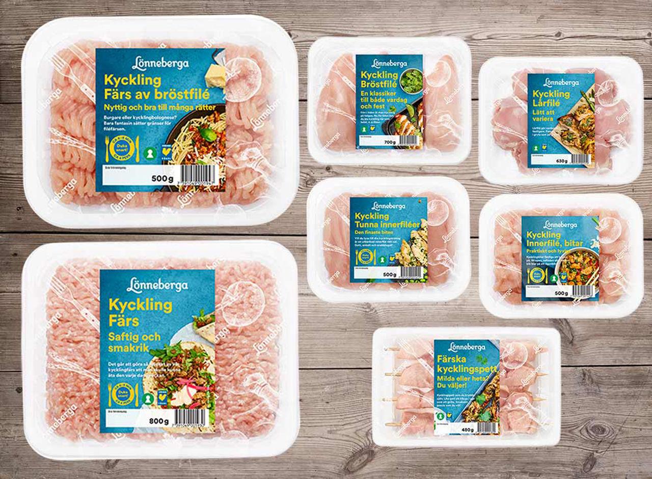 Sju kycklingnyheter från Lönneberga