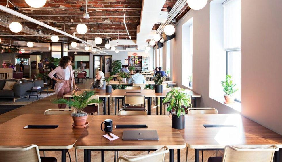 Kontorshotellet WeWork ställer in sin börsnotering