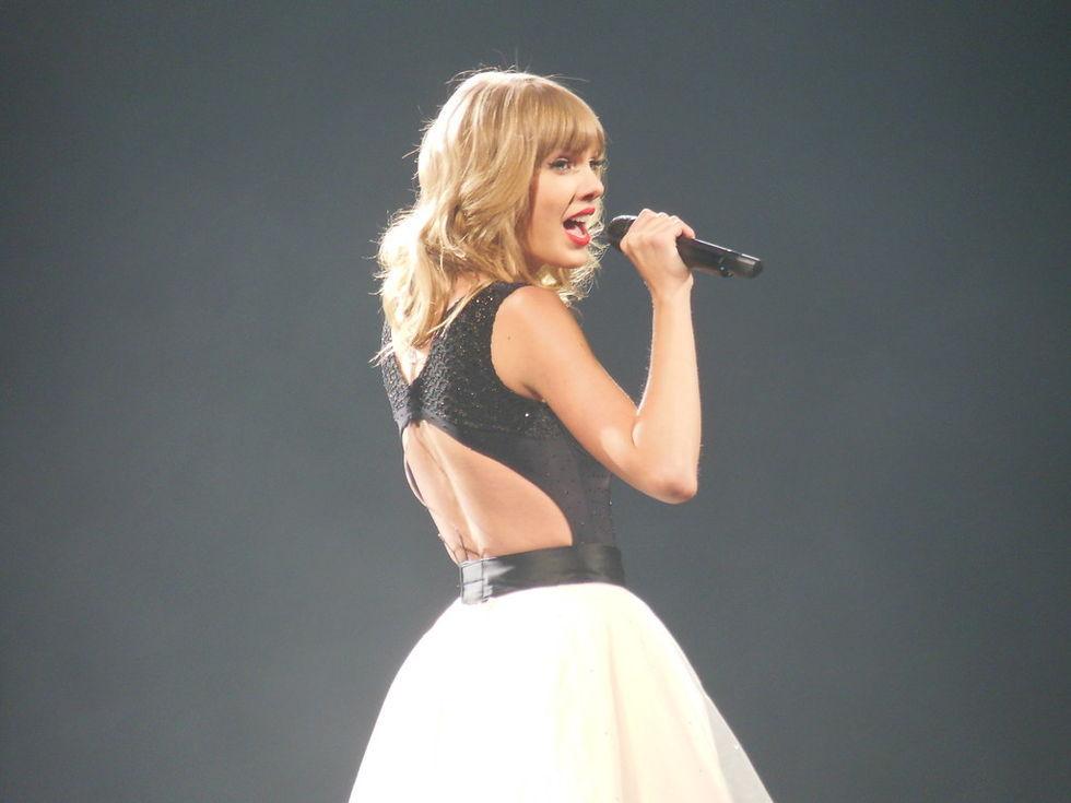 Taylor Swift klar för Roskildefestivalen