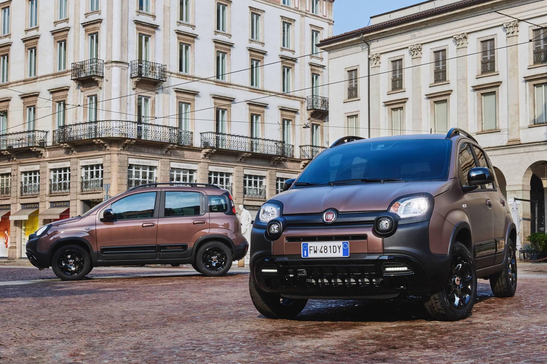 Fiat Panda Cross i lyxversion