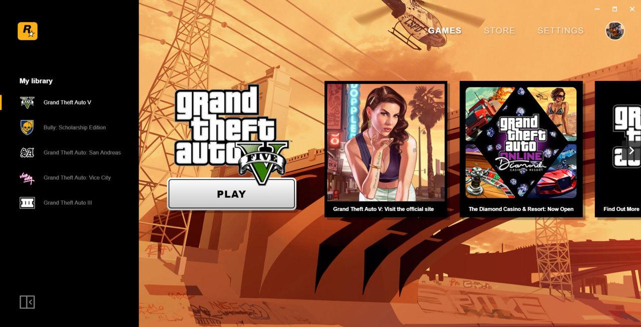 Rockstar rullar ut egen spelplattform till PC