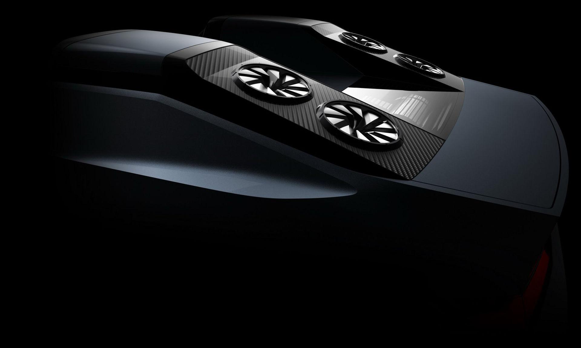 Mitsubishi teasar laddhybrid-koncept