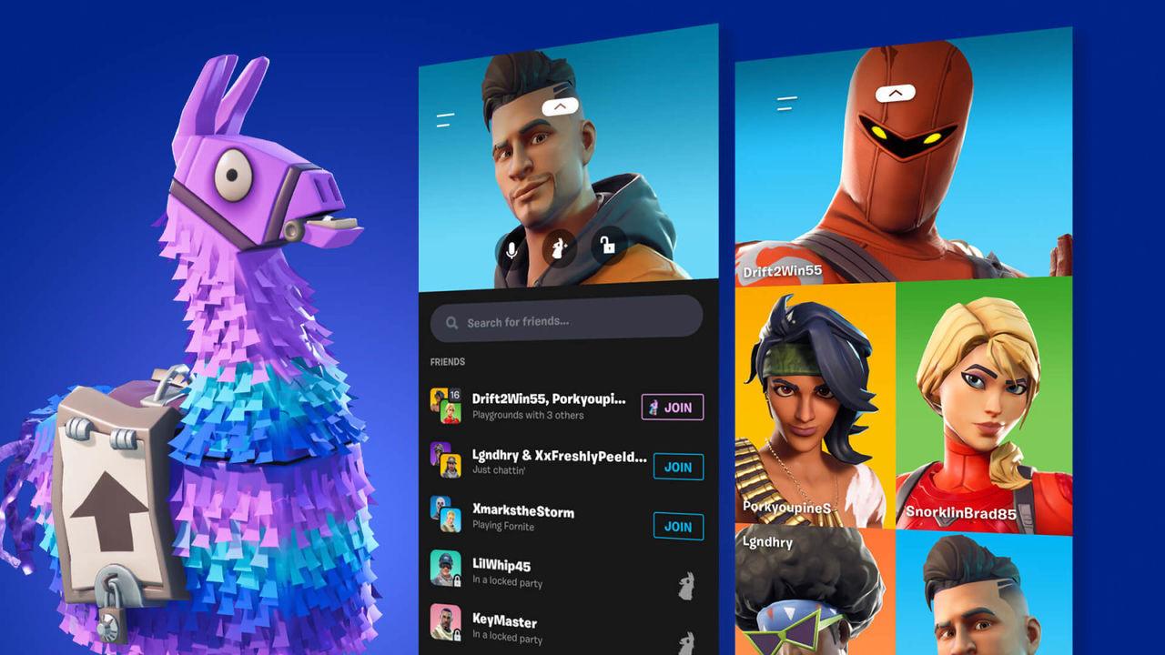 Epic släpper Party Hub till Fortnite