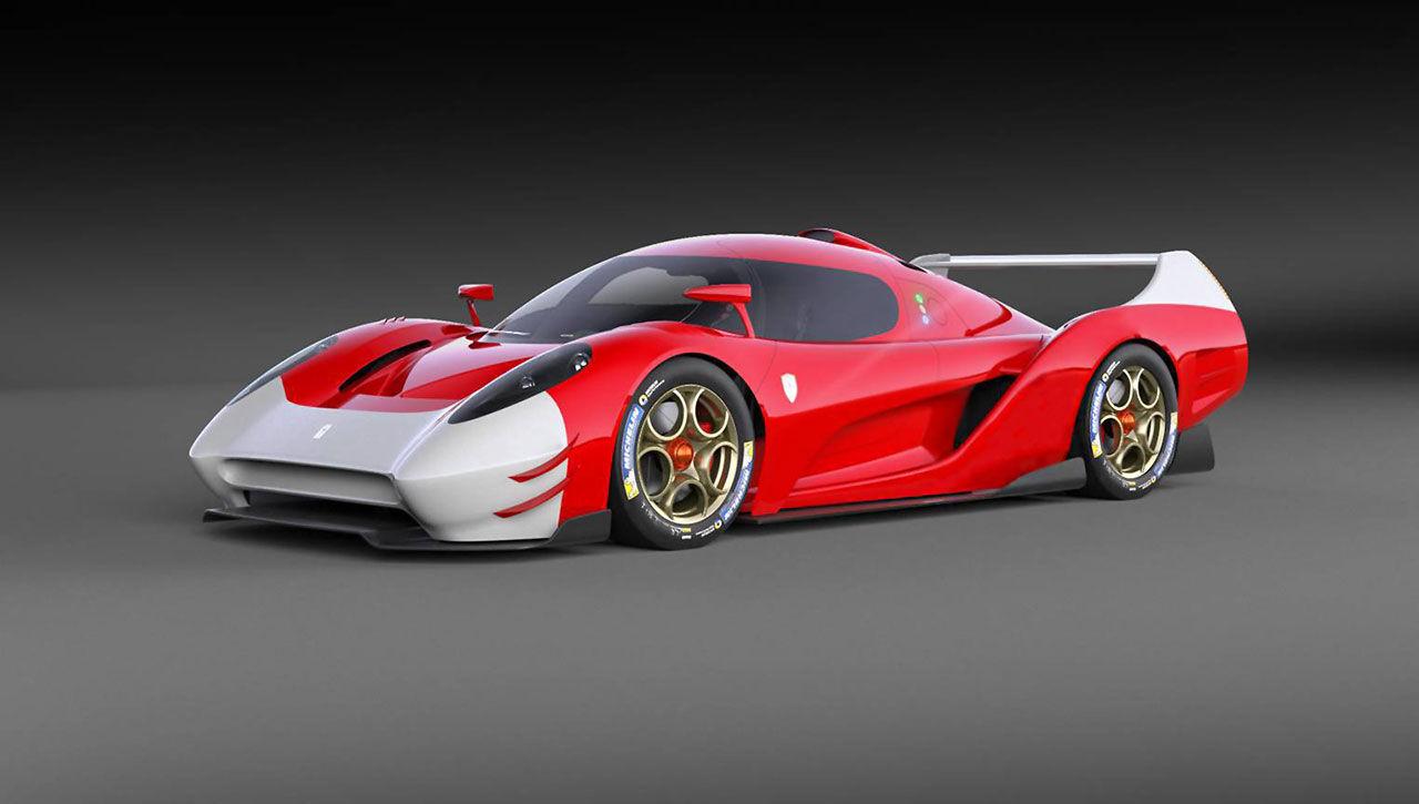 Glickenhaus visar bilder på sin nya racerbil