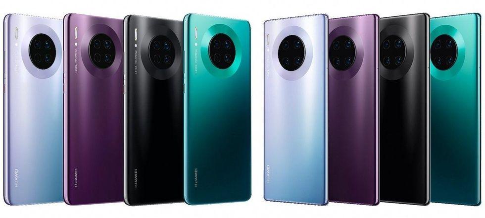 Huawei presenterar Mate 30 Pro