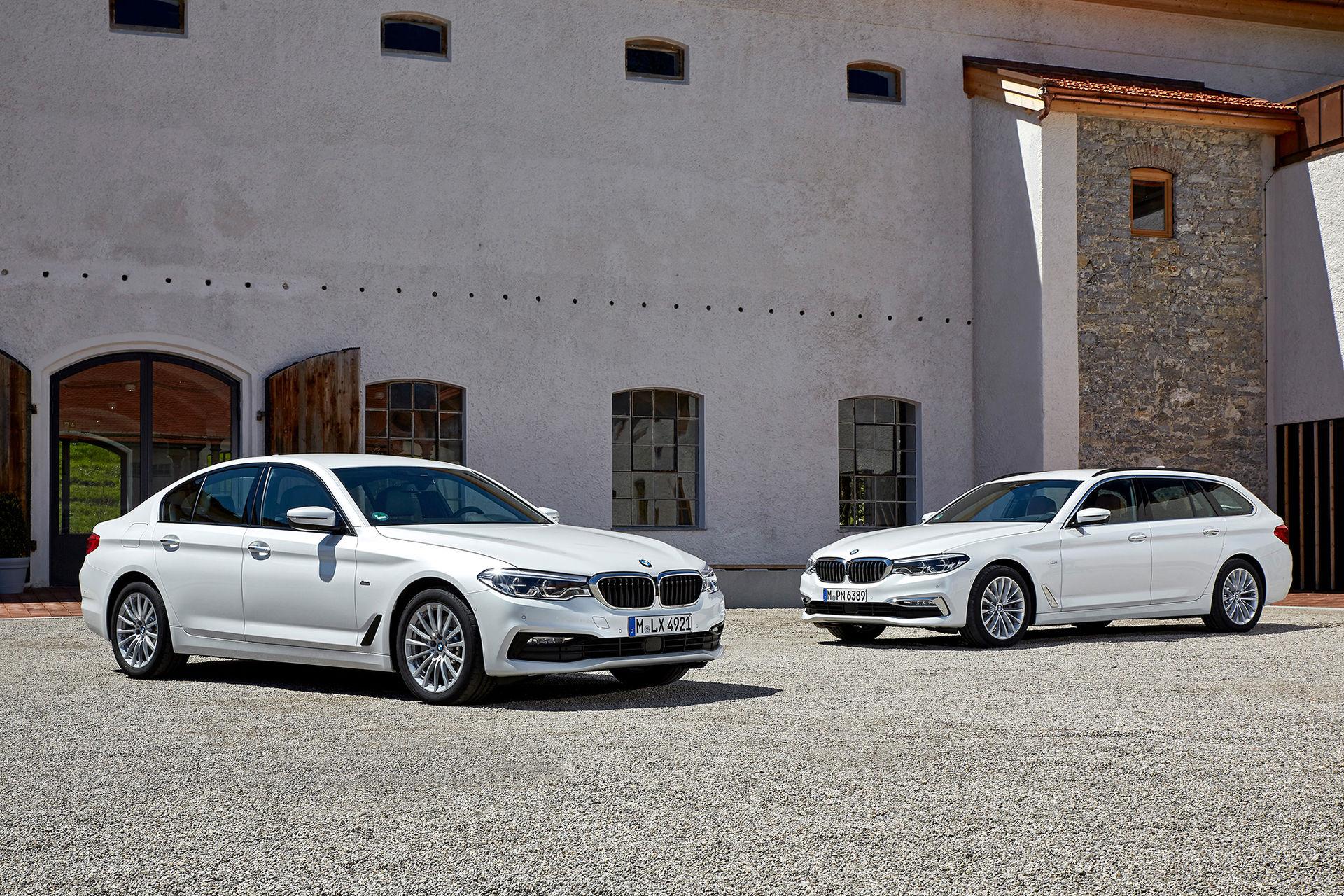 BMW 5-serie går nu att få som mildhybrid