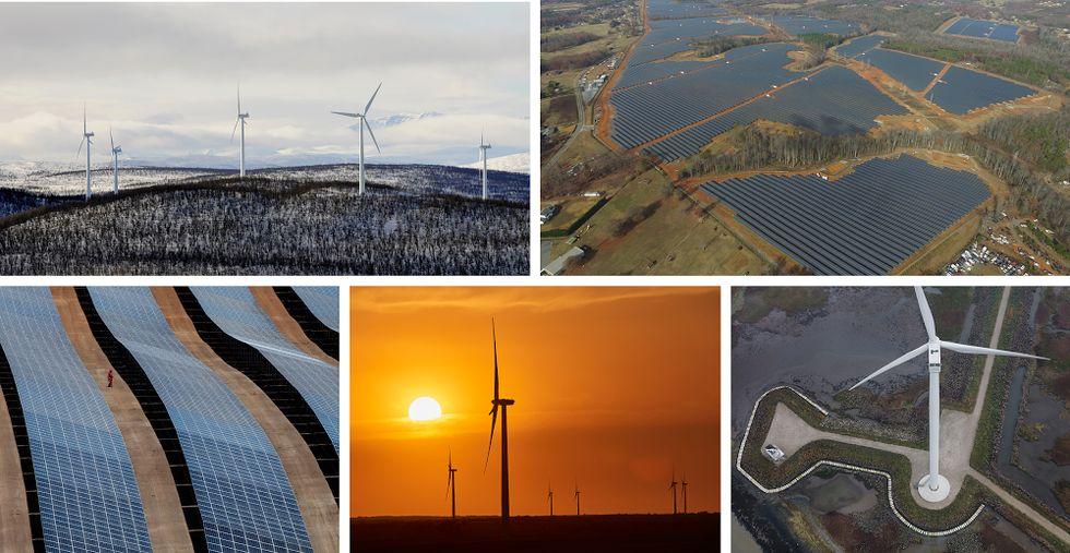 Google storsatsar på förnybar energi
