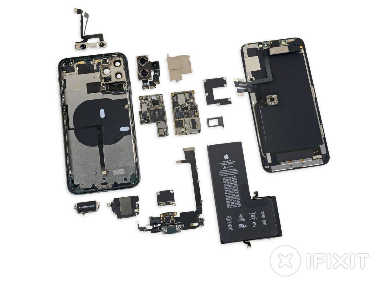 iFixit har plockat isär iPhone 11 Pro Max