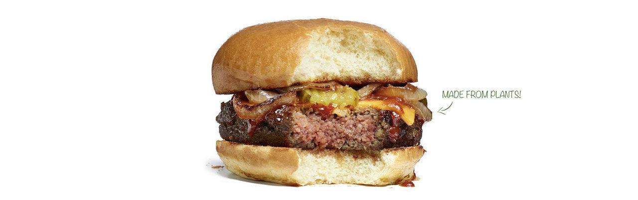 Köttlösa hamburgare lika onyttiga som vanliga
