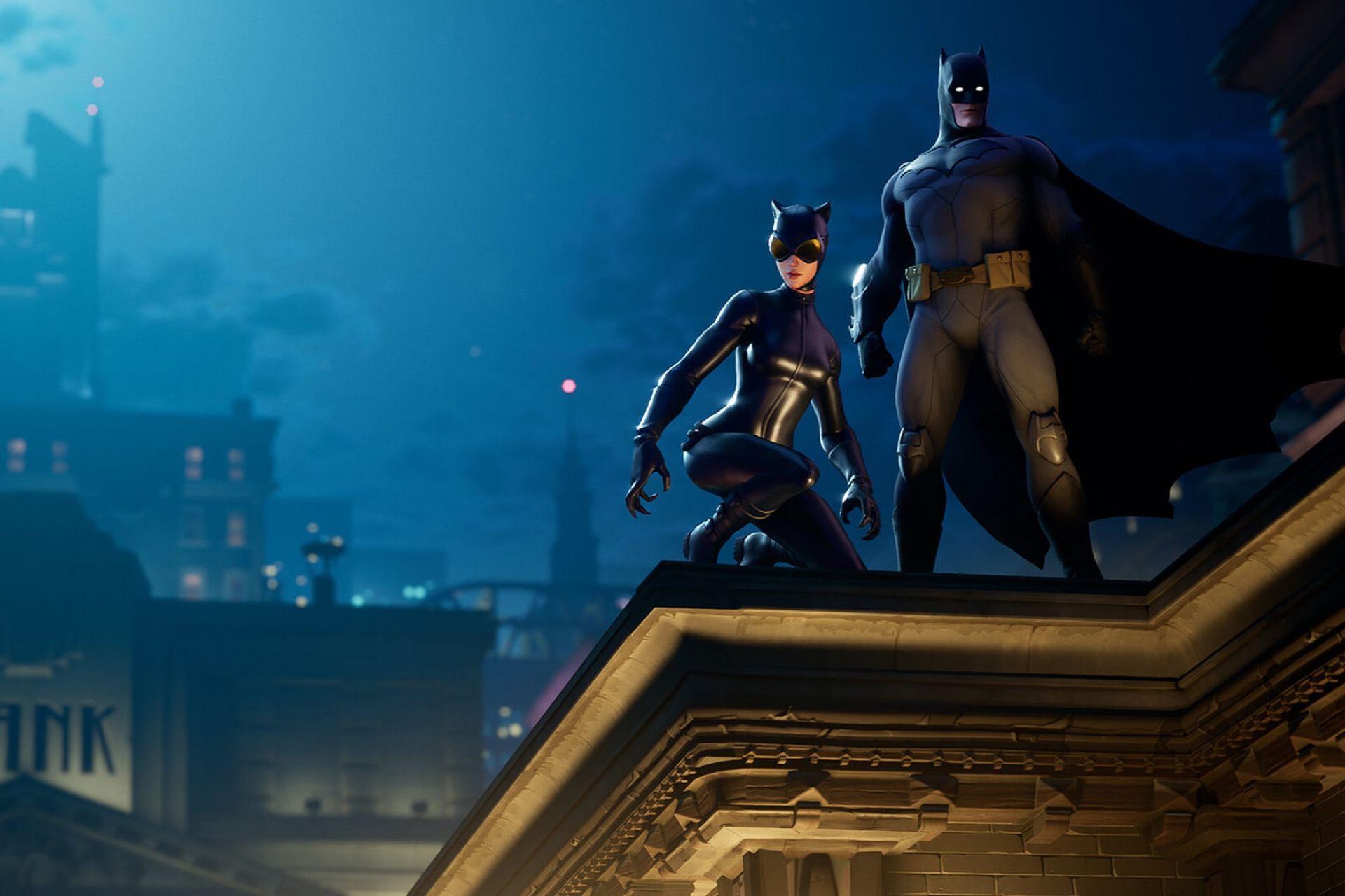 Batman har dykt upp i Fortnite
