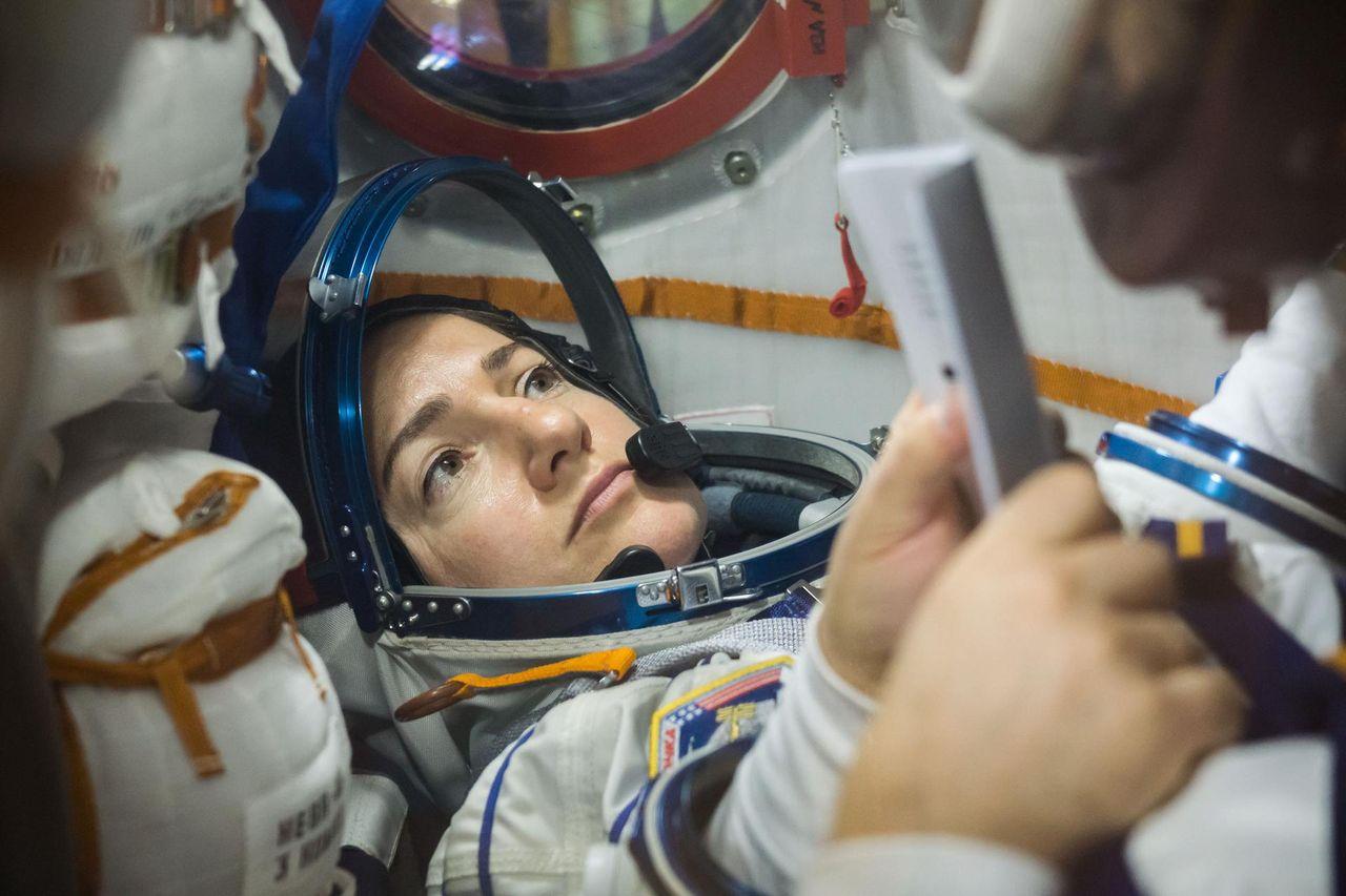 Idag åker Jessica Meir till rymden