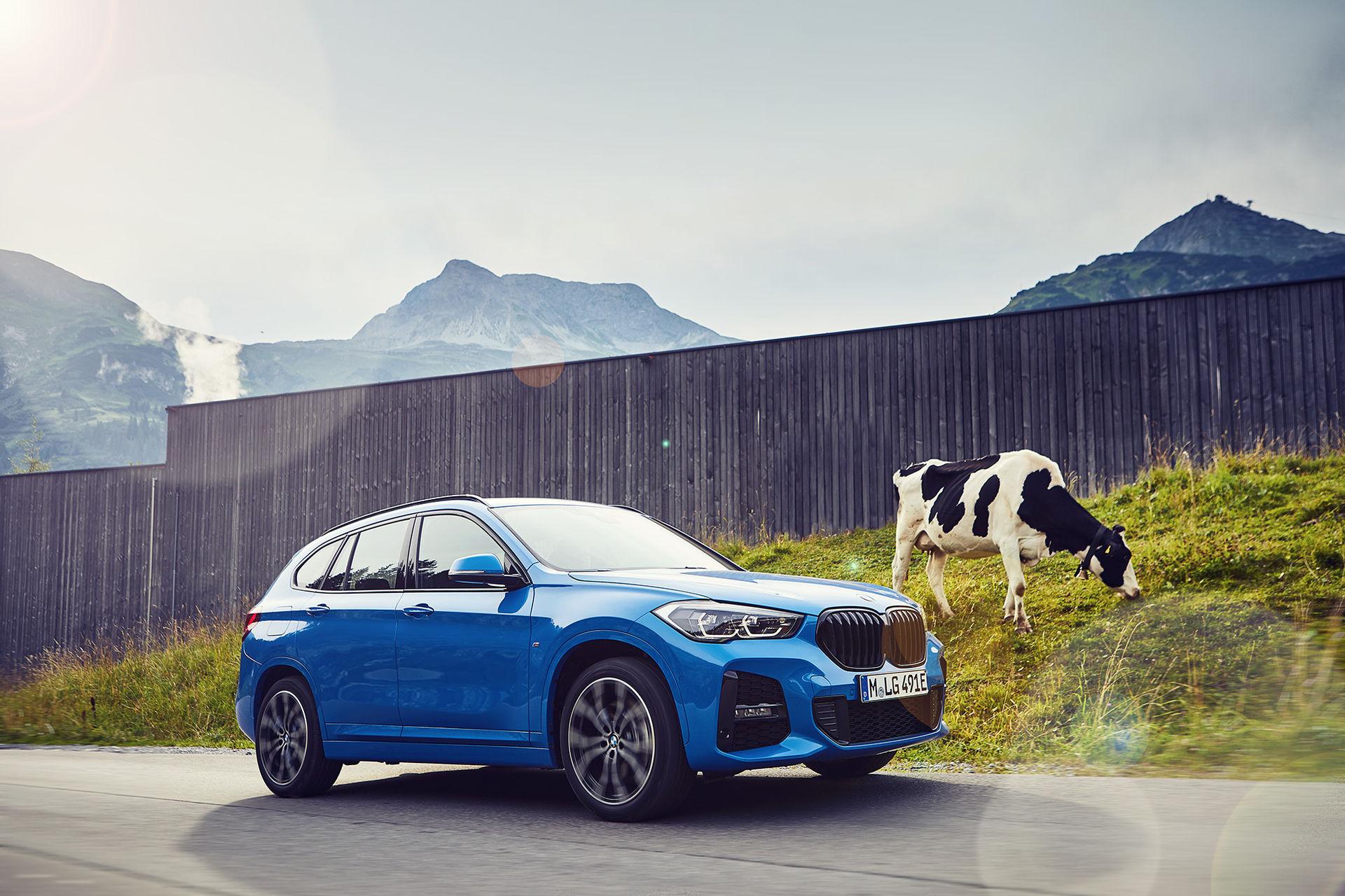BMW presenterar X1 som laddhybrid