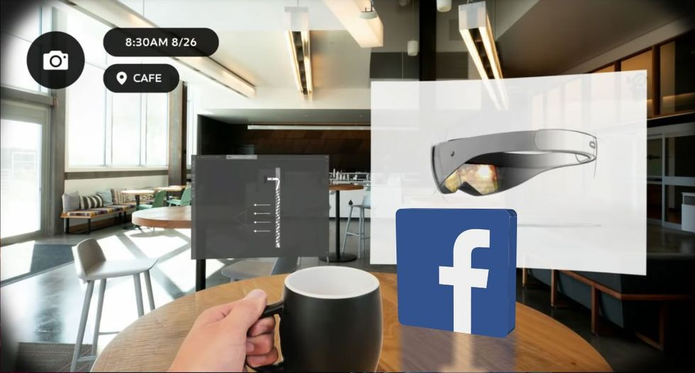 Facebook ska bygga augmented reality-glasögon
