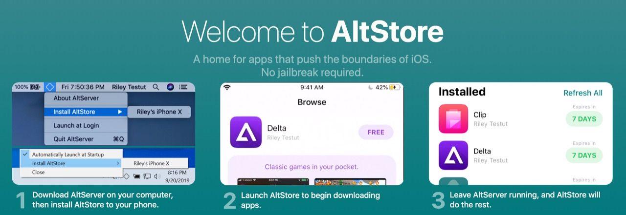 AltStore är en ny appbutik för iPhones