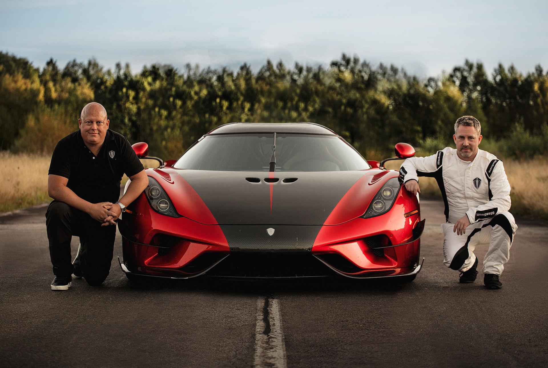 Koenigsegg Regera sätter nytt världsrekord
