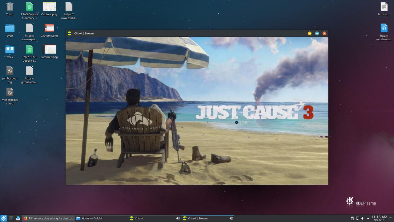 Spela PlayStation 4 på Linux