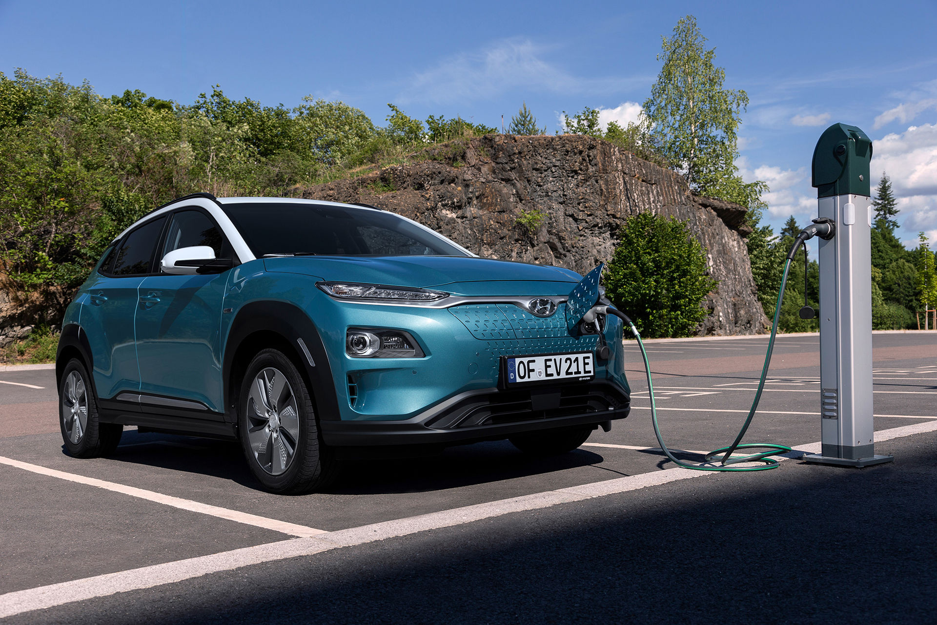 Hyundai lanserar uppdaterad Kona