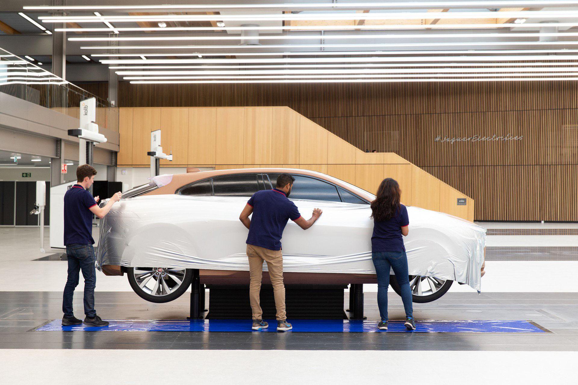 Spana in Jaguars nya designstudio