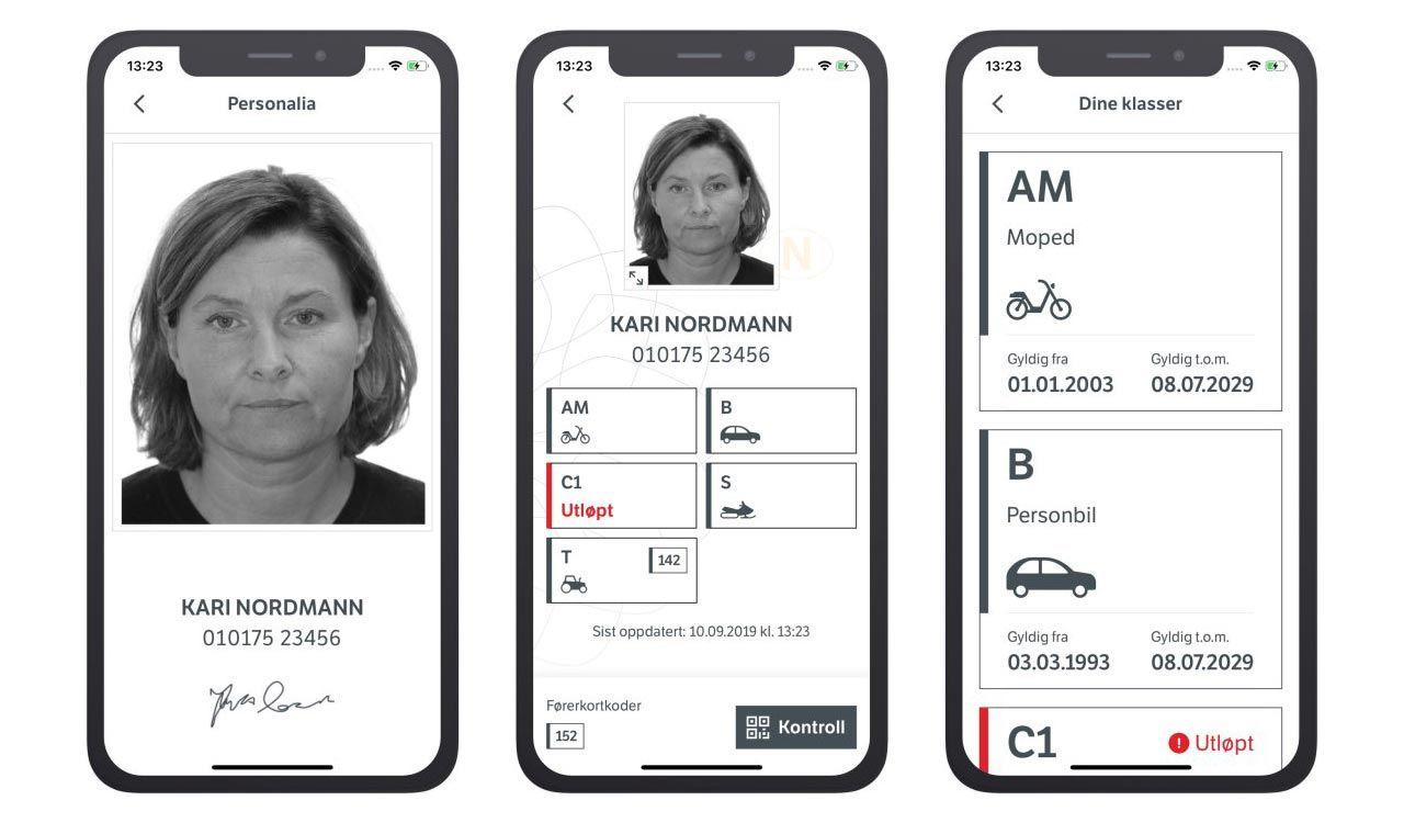 Nu kan norrmännen ha körkortet i mobilen