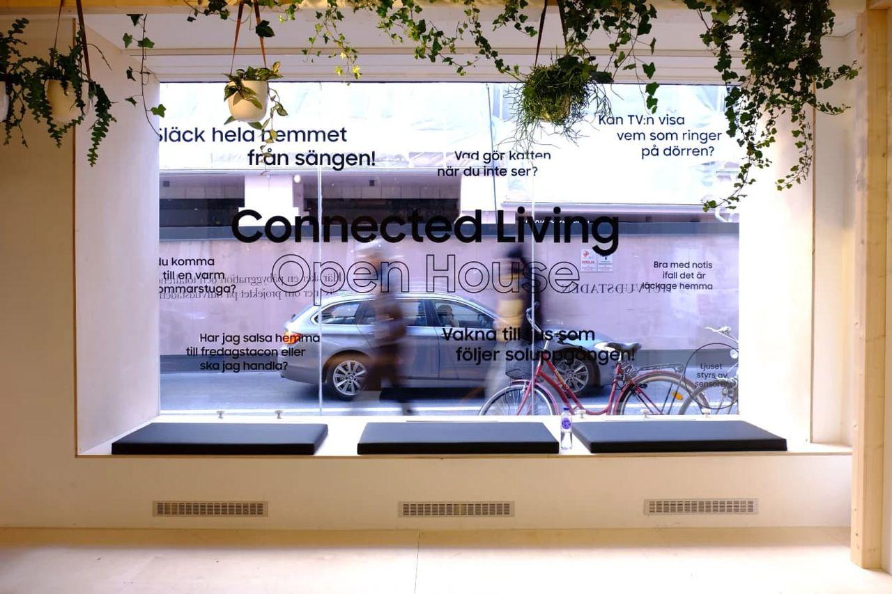Samsung öppnar butik för smarta hemmet i Stockholm