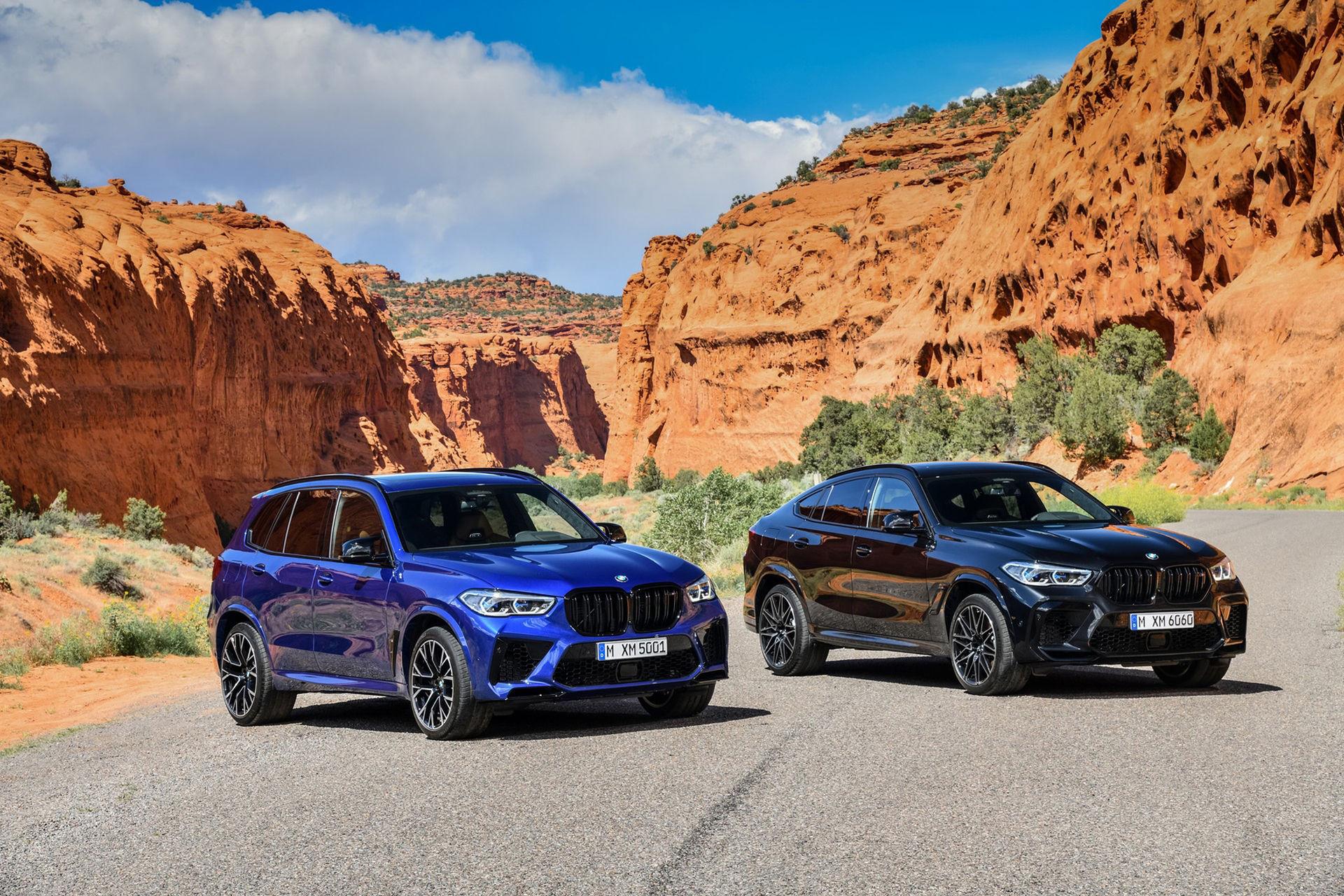 Nya BMW X5 M och X6 M är här