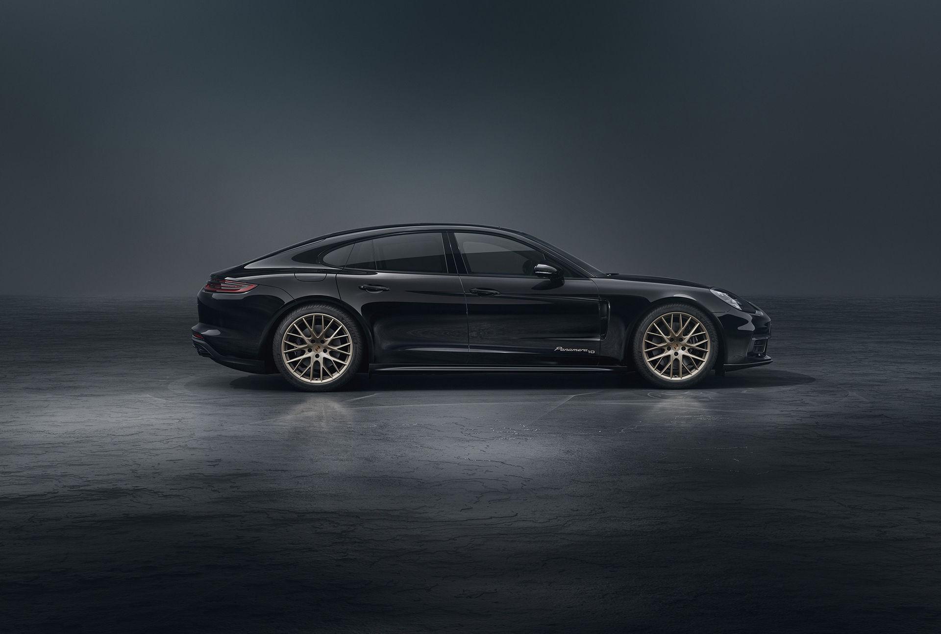 Porsche Panamera firar tio år med specialversion
