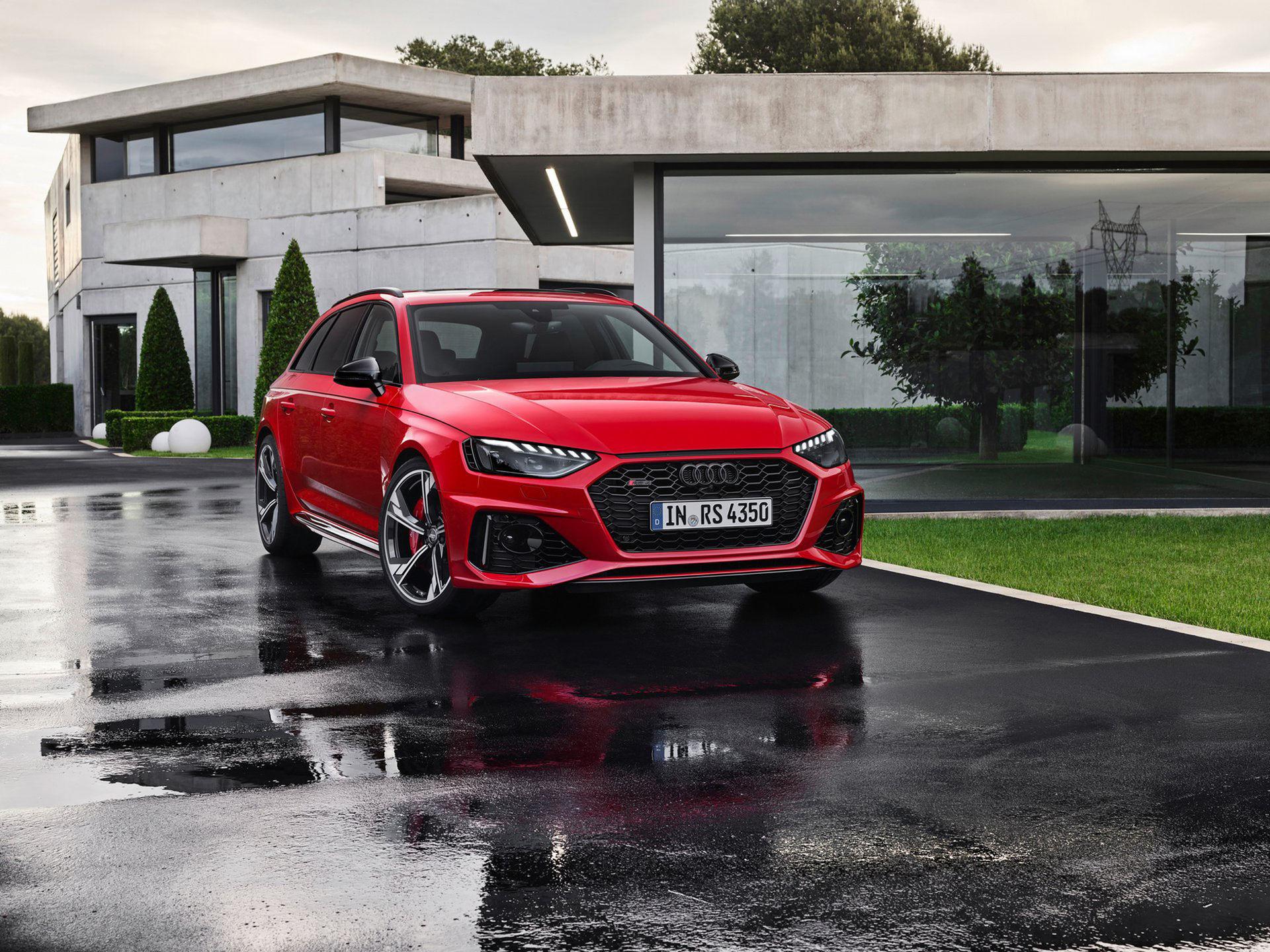 Audi RS 4 Avant får sig ett lyft