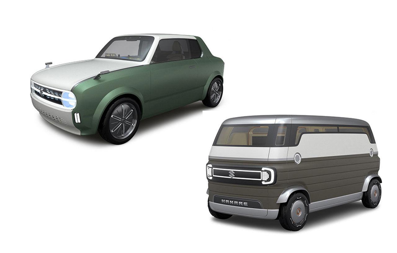 Retro-inspirerade koncept från Suzuki