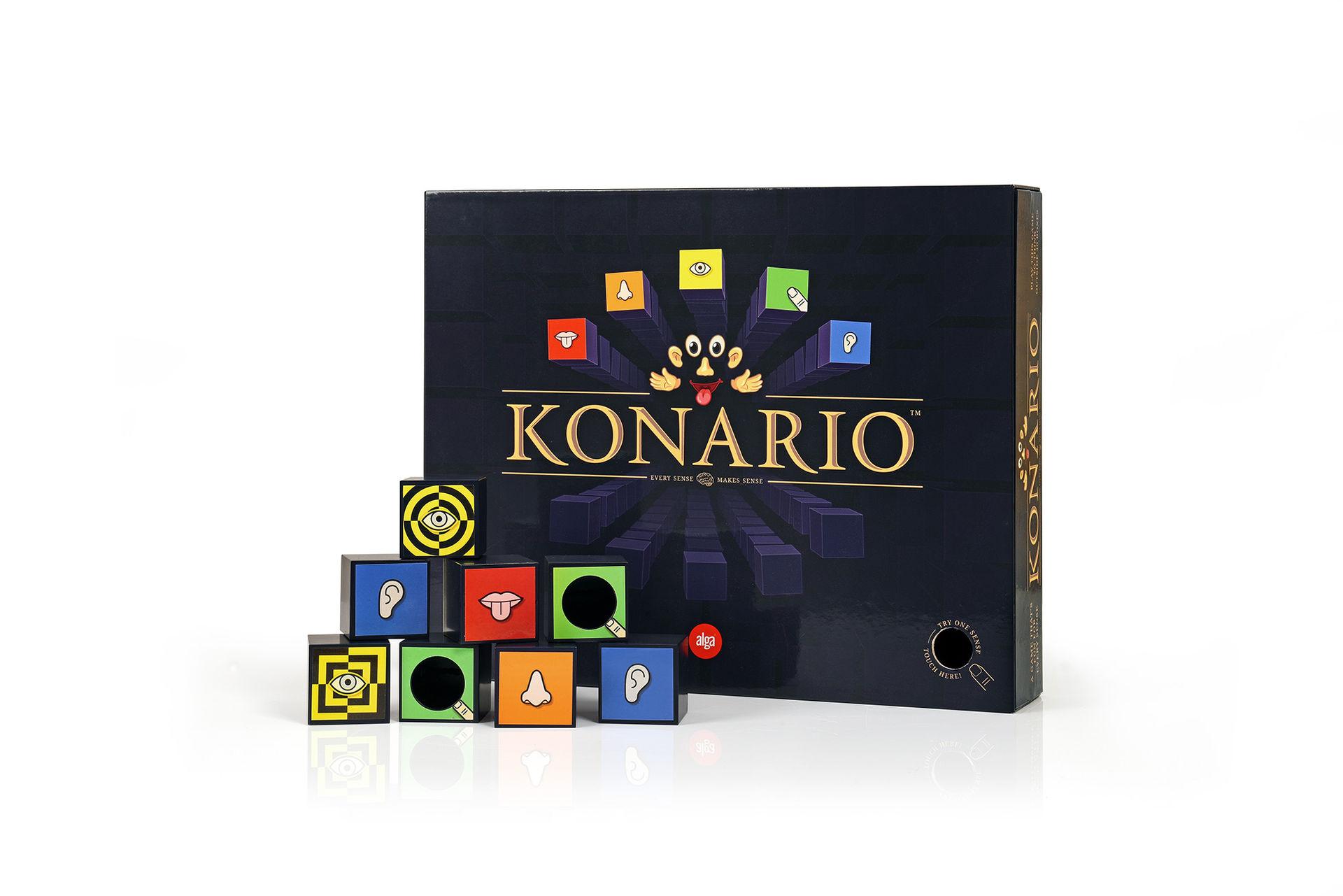 Konario - ett brädspel för alla fem sinnen