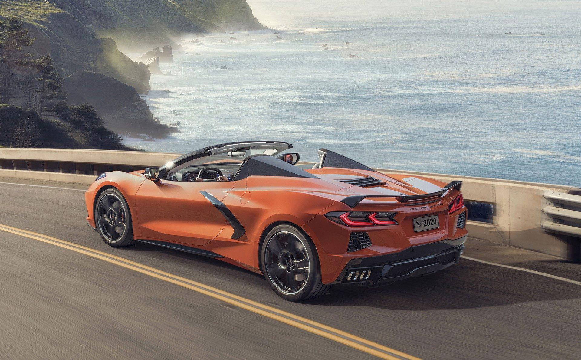Det här är nya Corvette som cabriolet