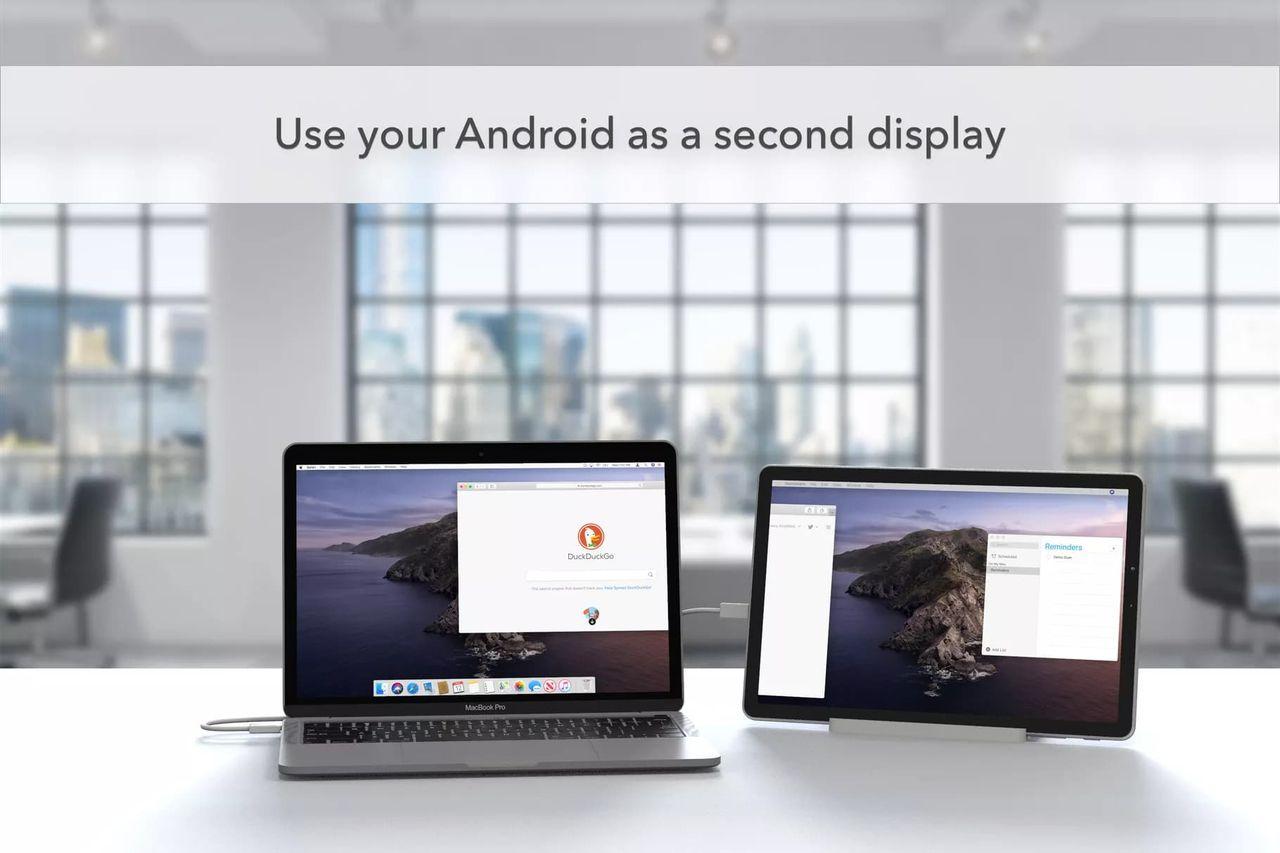 Duet Display fungerar nu på Android