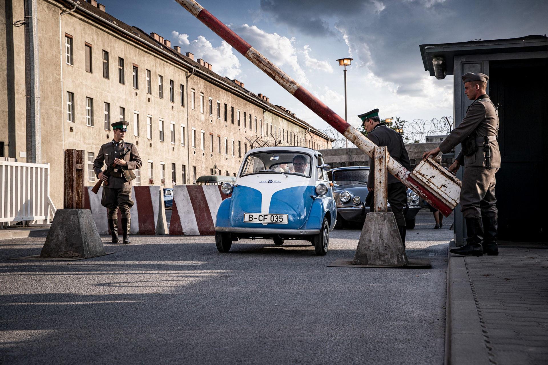 Lilla Isetta smugglade nio personer genom Berlinmuren