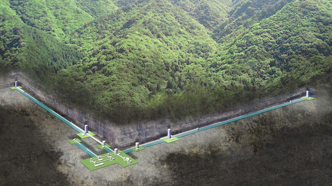 Nu börjar även Japan leta gravitionsvågor
