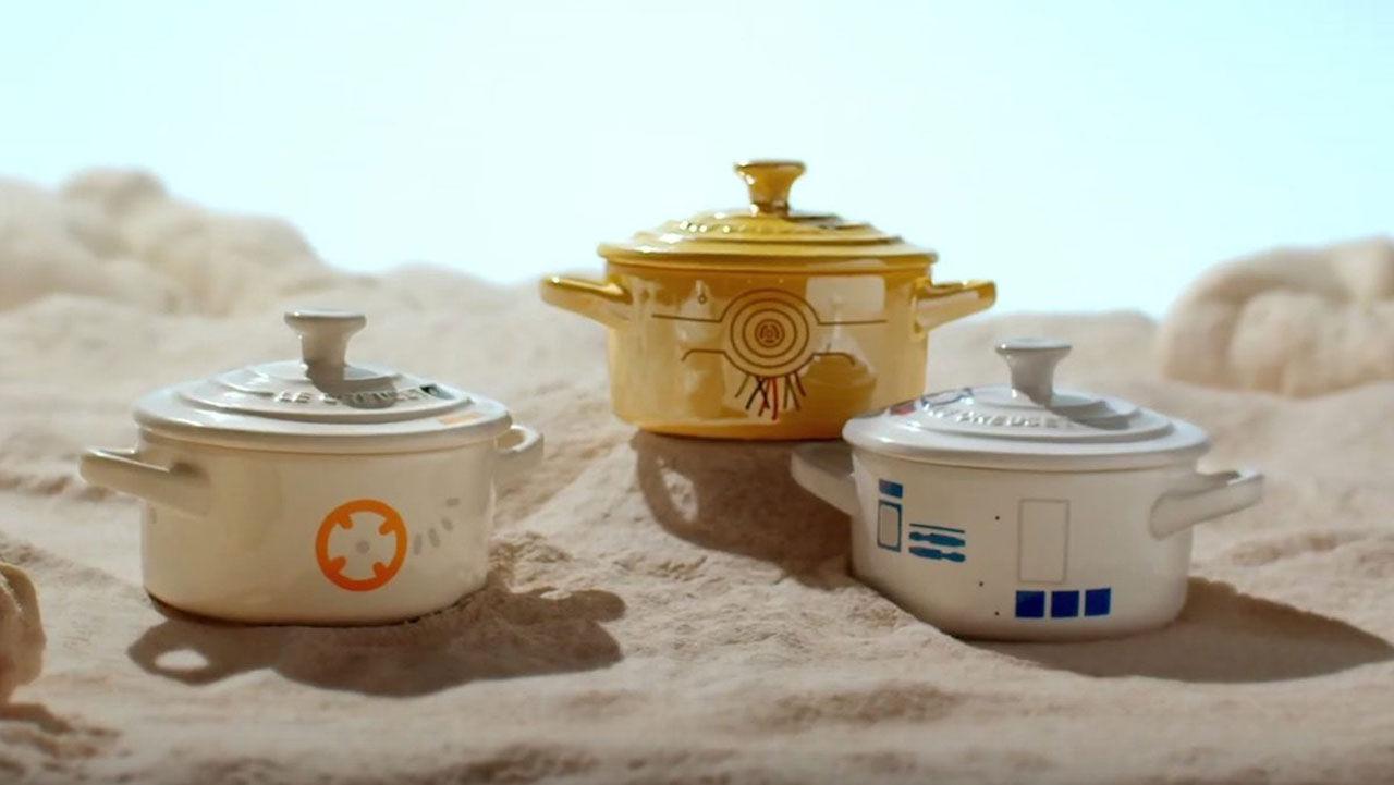 Karotter från Le Creuset med Star Wars-tema