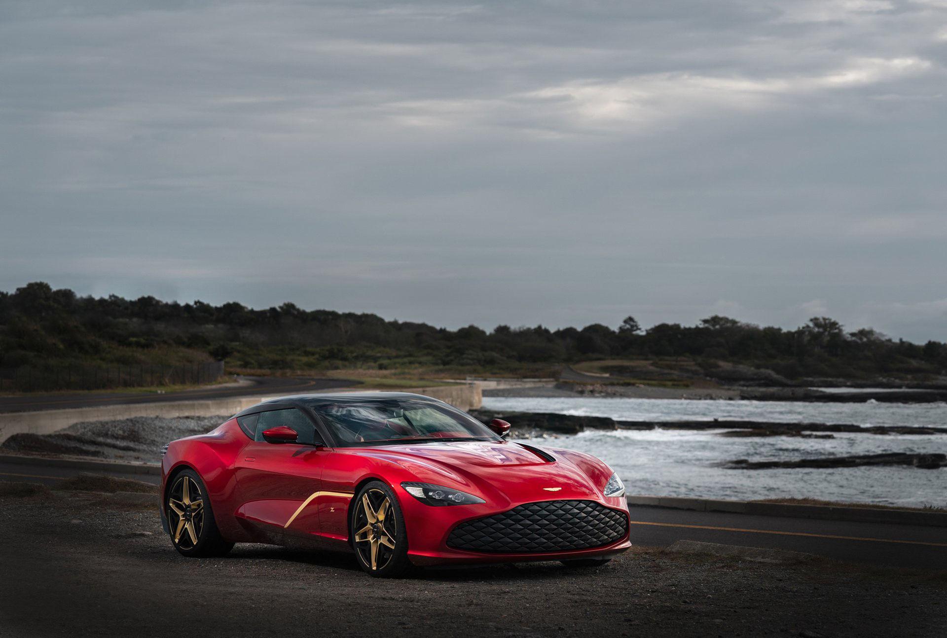 Aston Martin DBS GT Zagato är nu här