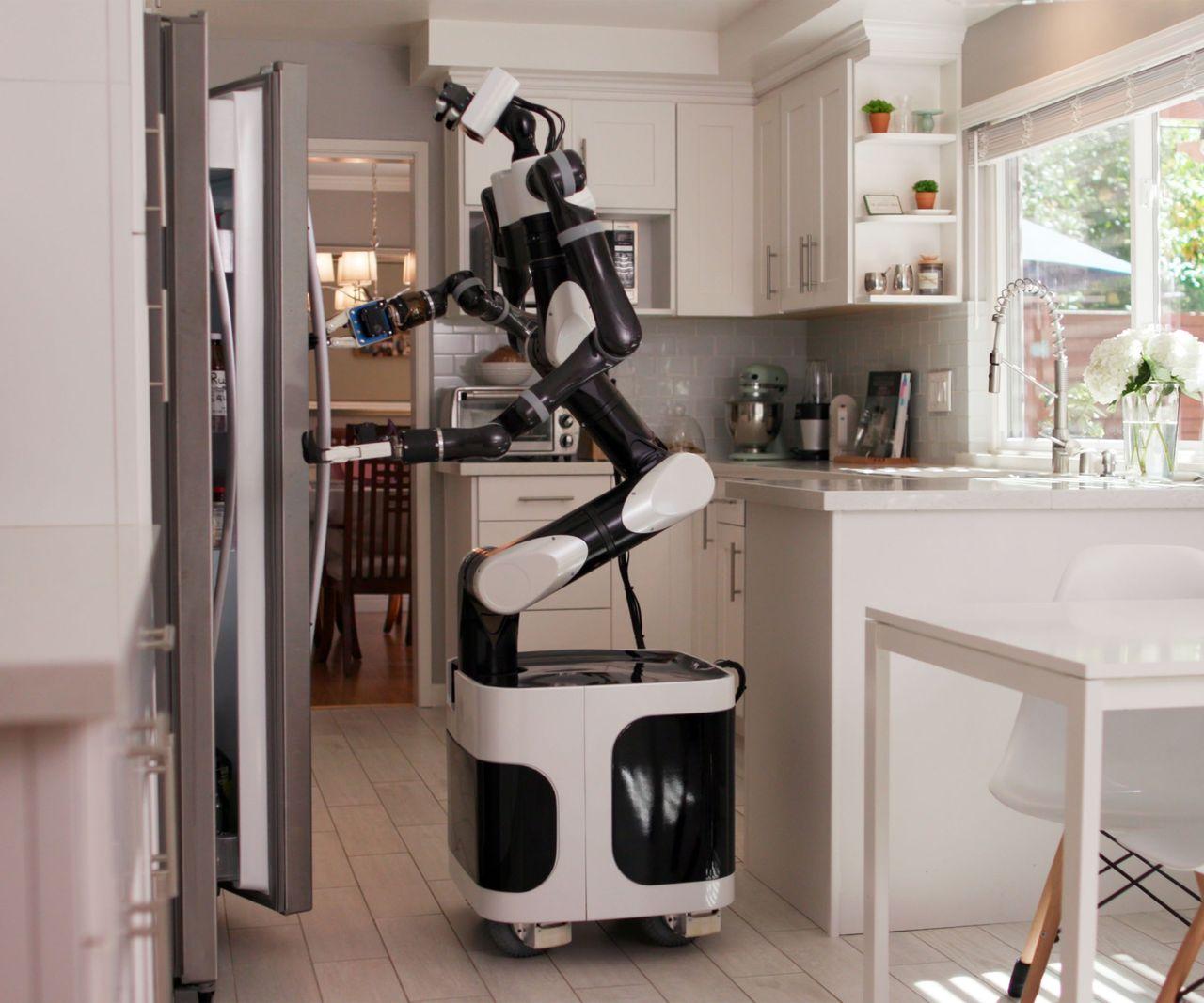 Toyota tränar upp robotar i VR
