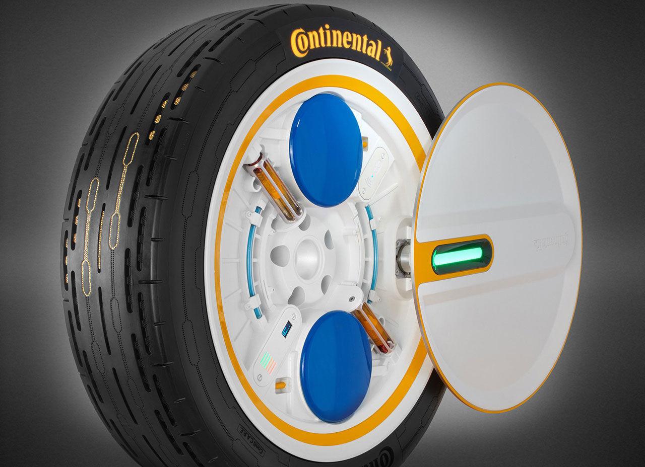 Continentals nya däck justerar däcktrycket hela tiden