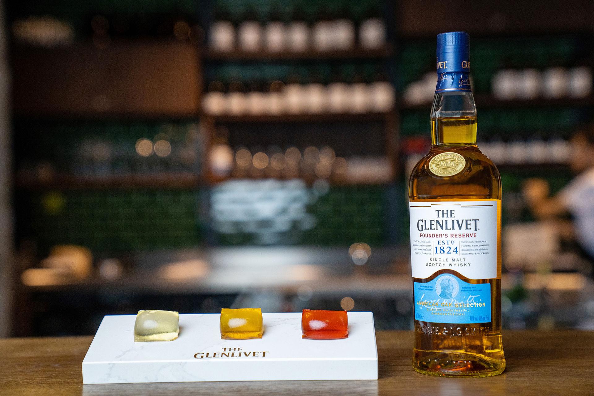 Glenlivet lanserar whisky-kapslar