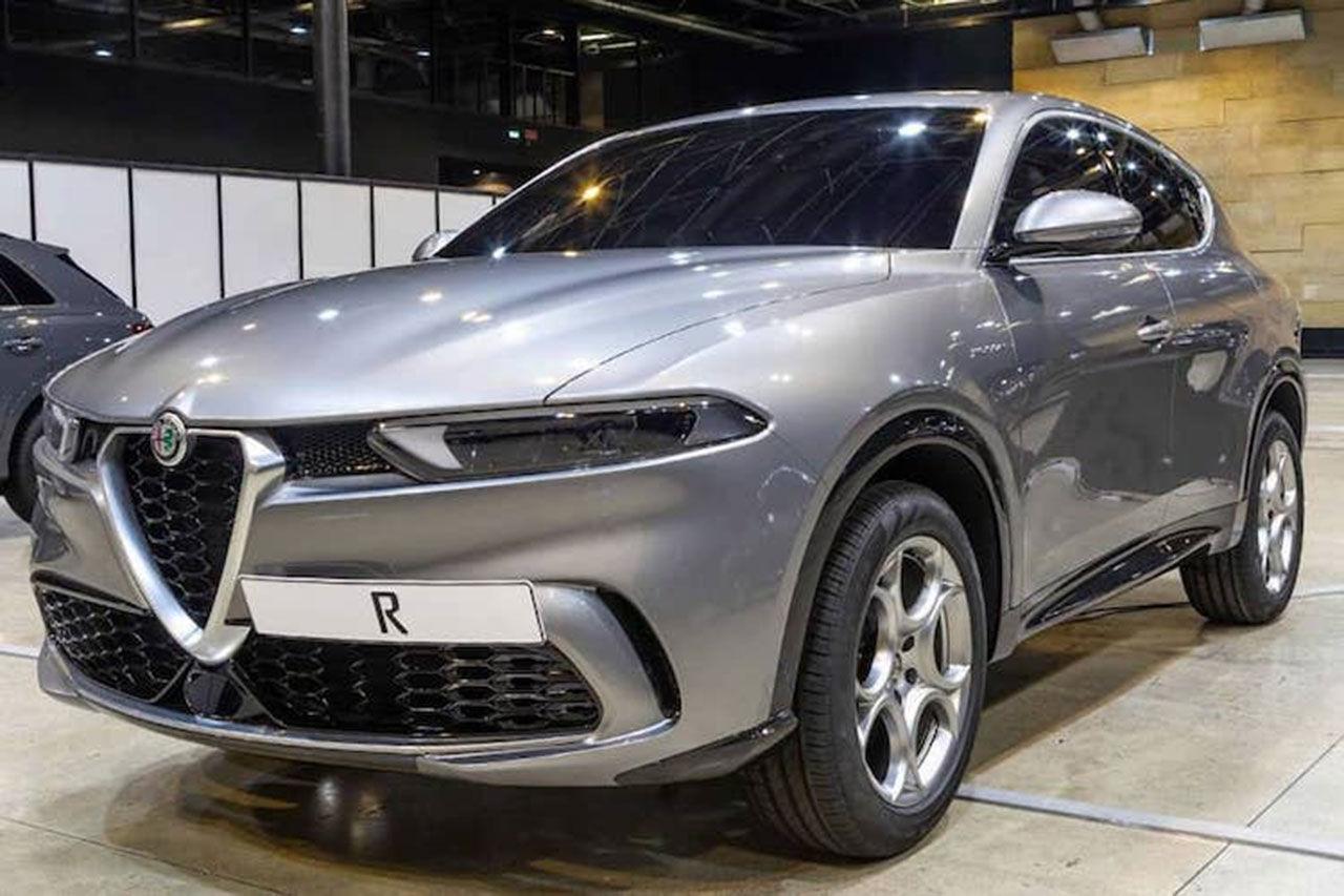 Alfa Romeo Tonale läcker ut